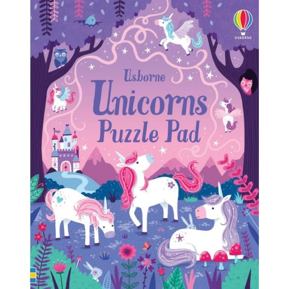 Unicorns Puzzle Pad