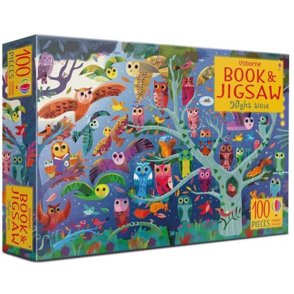Night time - Book and jigsaw