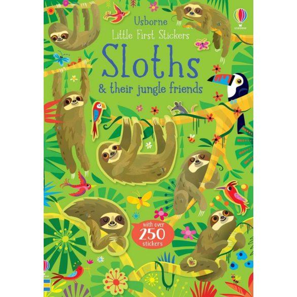 Little First Sticker Sloths