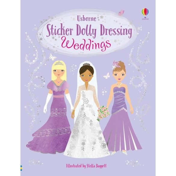 Sticker dolly dressing - Wedding