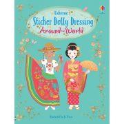 Sticker dolly dressing - Around the World