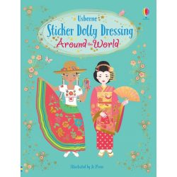 Sticker dolly dressing - Around the World