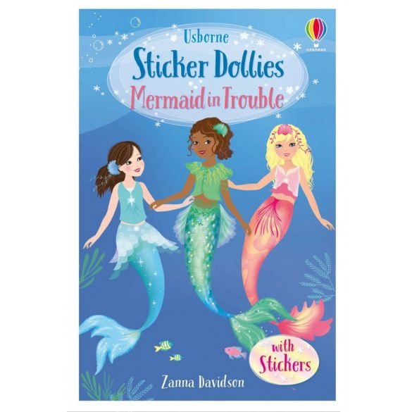 Sticker Dollies - Mermaid in Trouble