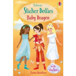 Sticker Dollies - Baby Dragon
