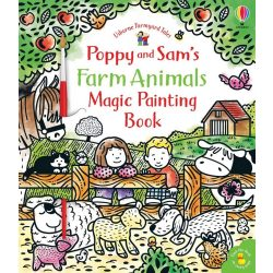 Poppy and Sam's Farm Animals Magic Painting Book