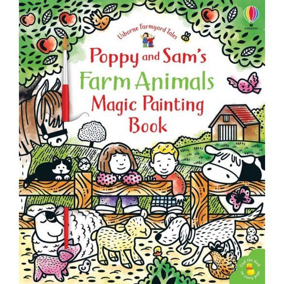 Poppy and Sam's Farm Animals Magic Painting Book