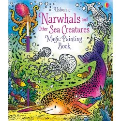 Magic Painting Narwhals and Other Sea Creatures