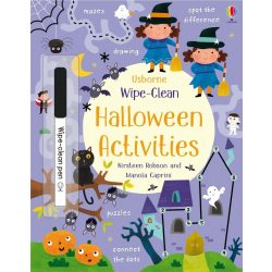 Wipe-Clean Halloween Activites