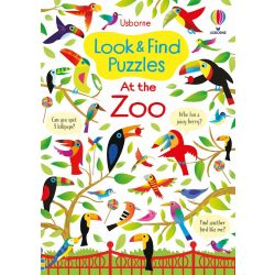 Look and Find Puzzles - At the Zoo