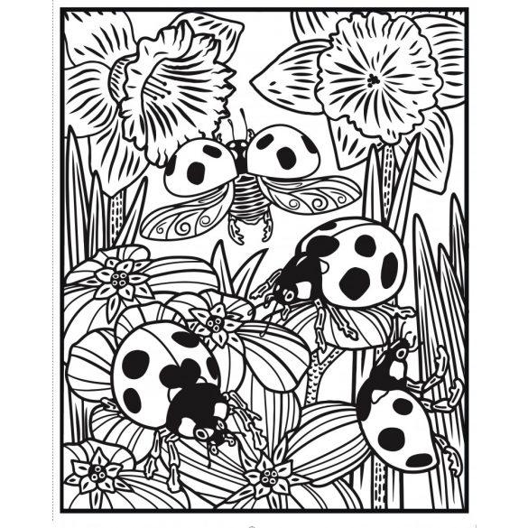 Bugs Magic Painting Book