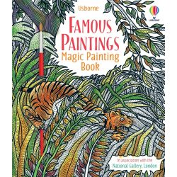Famous Paintings Magic Painting Book