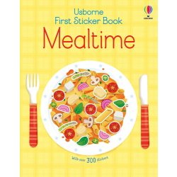 First Sticker Book Mealtime