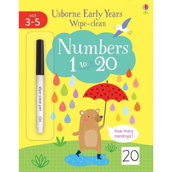 Wipe-Clean Numbers 1-20