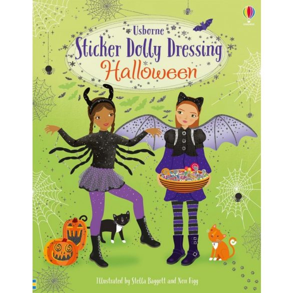 Sticker dolly dressing - Halloween