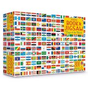Flags Of the World Picture Book And Jigsaw