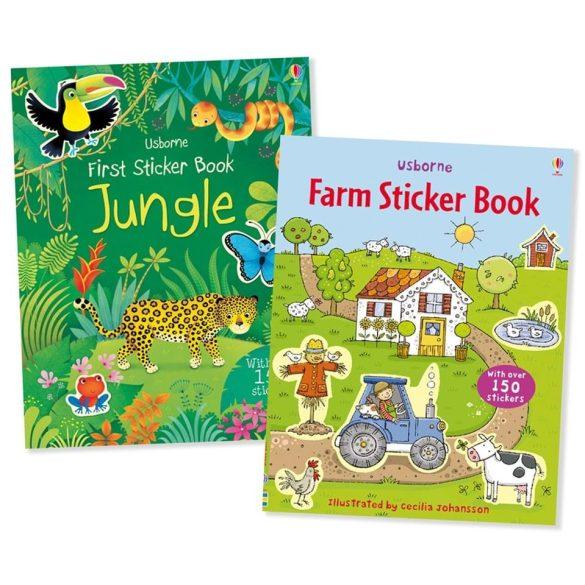 First Sticker Book set