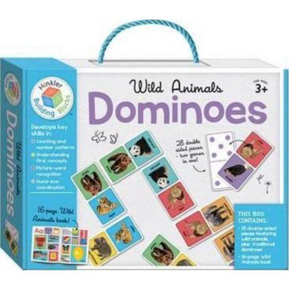 Wild Animals Building Blocks Dominoes