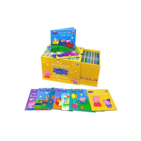 The Incredible Peppa Pig Storybooks Collection - 50 Books Box Set