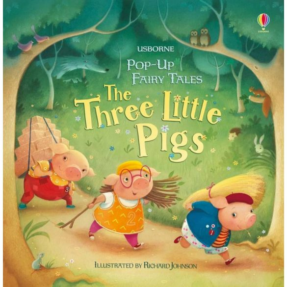Pop-up Fairy Tales - Three little pigs