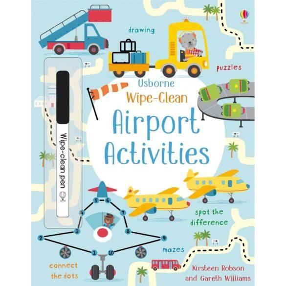 Wipe-clean Airport Activities