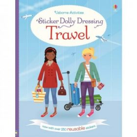 Holiday and travel sticker books