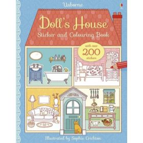 Doll's house sticker books