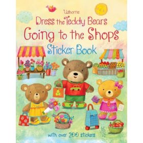 Dress the Teddy Bears Sticker Books