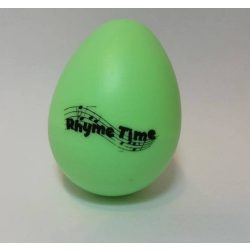 Rhyme Time Green Eggshaker