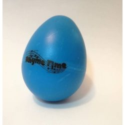 Rhyme Time Blue Eggshaker