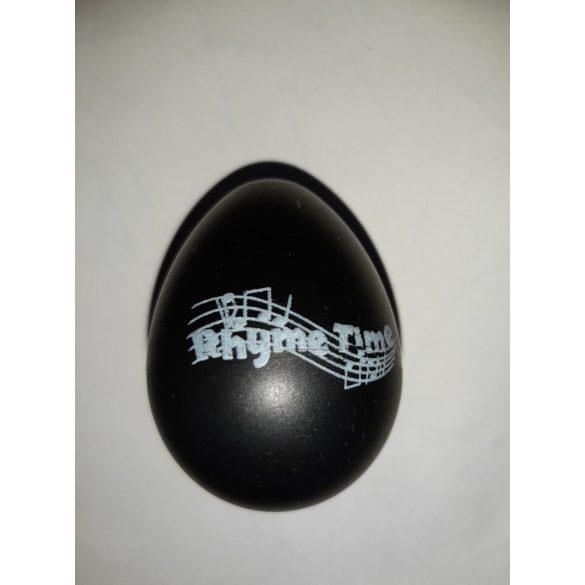 Rhyme Time Black Eggshaker