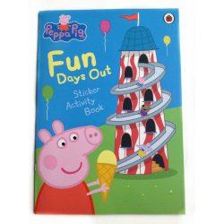 Peppa Pig : Fun Days Out Sticker Activity Book