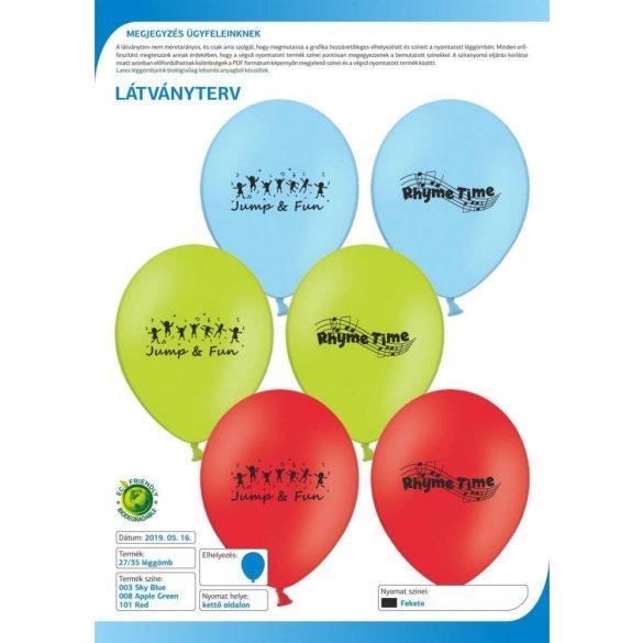 Rhyme Time Balloons